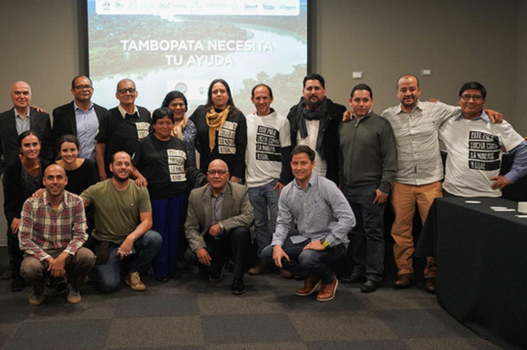 """La iniciativa """"Los TamboPatas"""", impulsada por la SPDA, recibió el Premio Antonio Brack Egg 2019 del Ministerio del Ambiente. Foto: ANDINA/Difusión"""