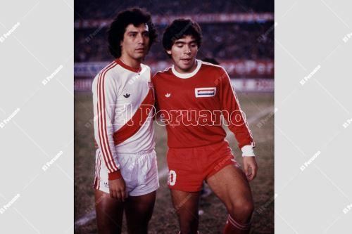 Diego Armando Maradona:  Recuerda su inolvidable paso por Perú