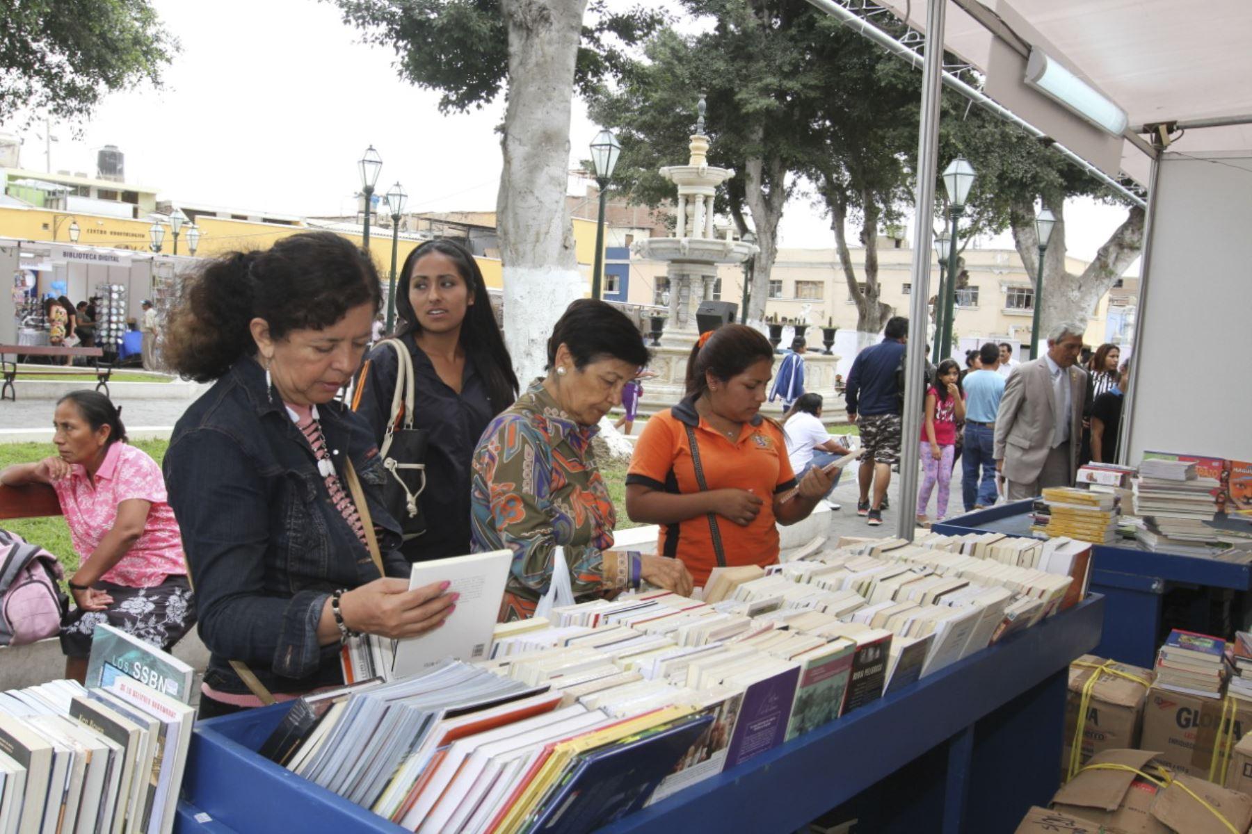 La Feria Internacional del Libro de Trujillo se desarrollará de manera virtual del 20 al 30 de noviembre. Foto: ANDINA/Difusión