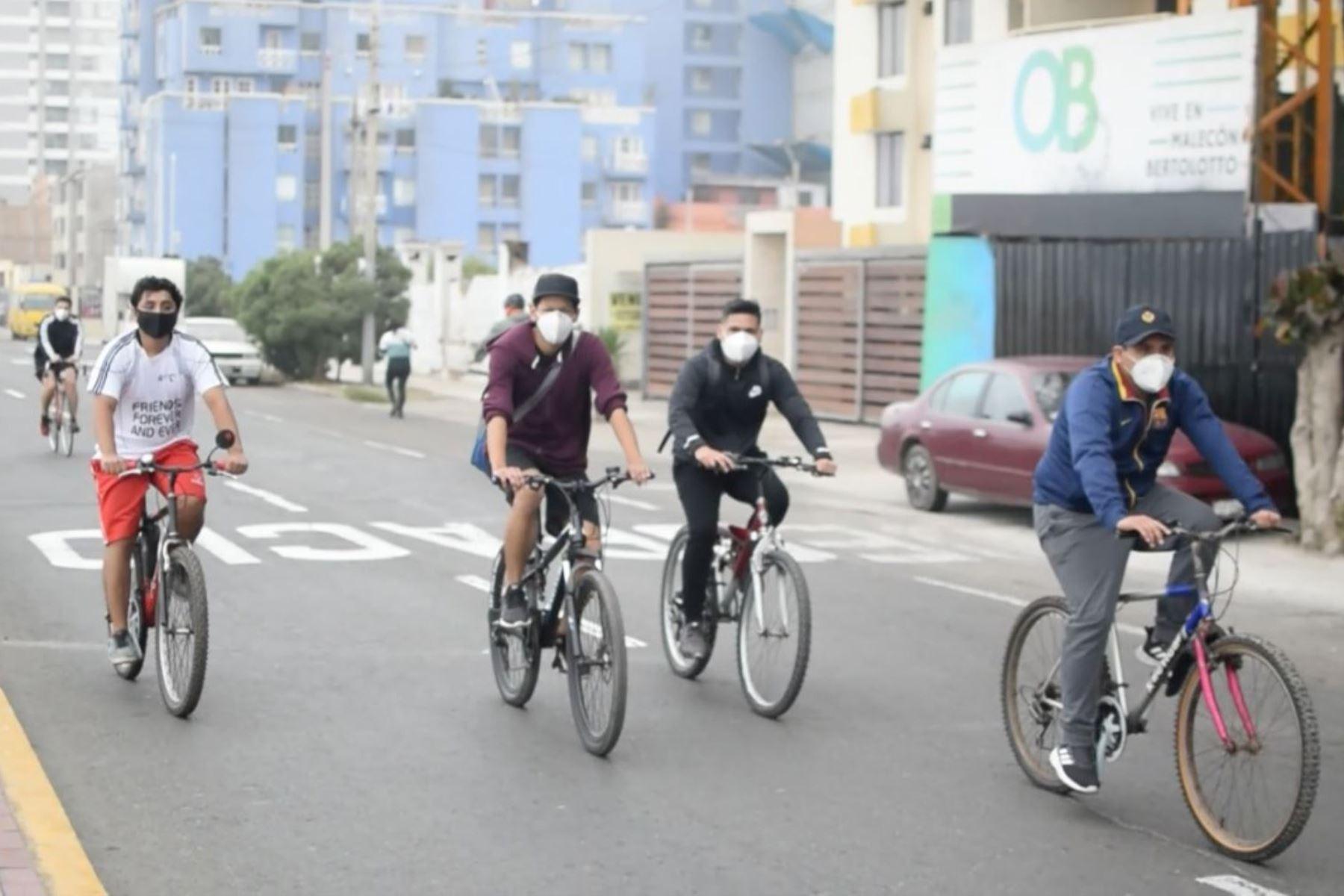 Habrán cuatro puntos para la práctica de actividades deportivas y la avenida Costanera será cerrada al tránsito vehicular. Foto: Difusión
