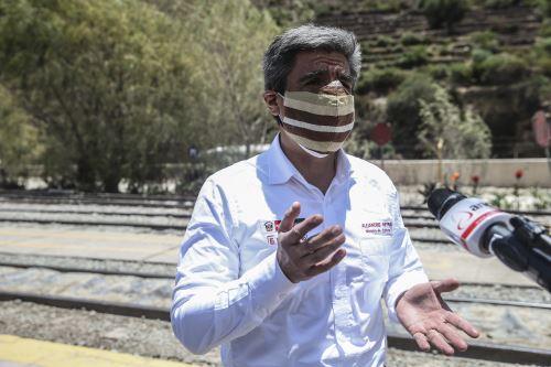 Ministro de Cultura, Alejandro Neyra. ANDINA/Jhonel Rodríguez Robles
