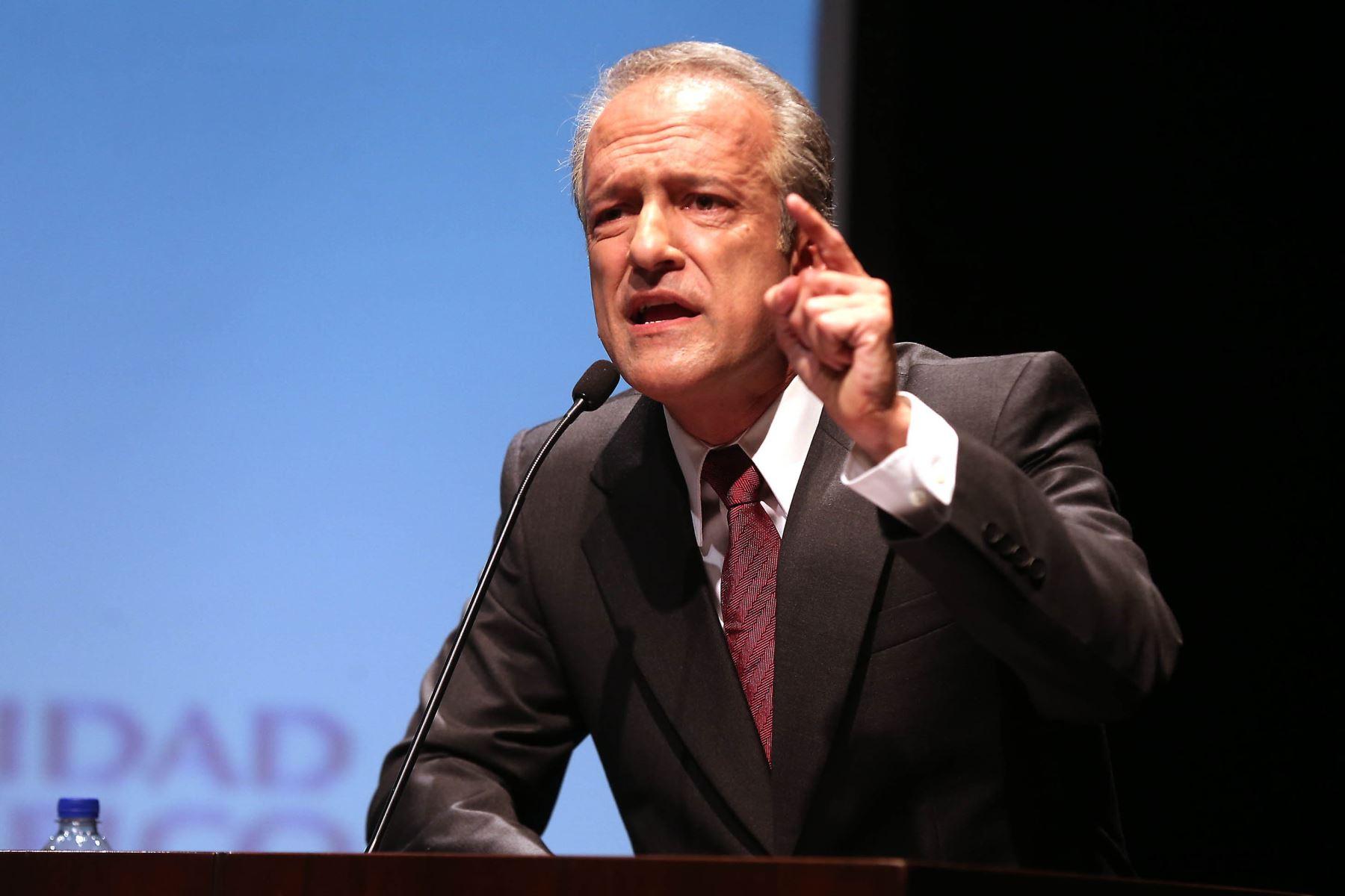 Hernando Guerra-García, vocero parlamentario de Fuerza Popular. Foto: ANDINA/difusión.