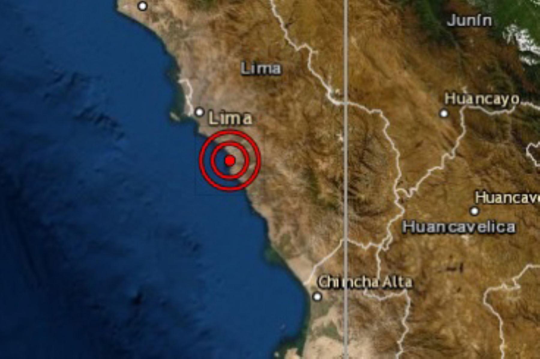 La provincia de Cañete fue remecida esta mañana por un sismo de magnitud 3.4 informó el Centro Sismológico Nacional del Instituto Geofísico del Perú (IGP). Foto: ANDINA/difusión.
