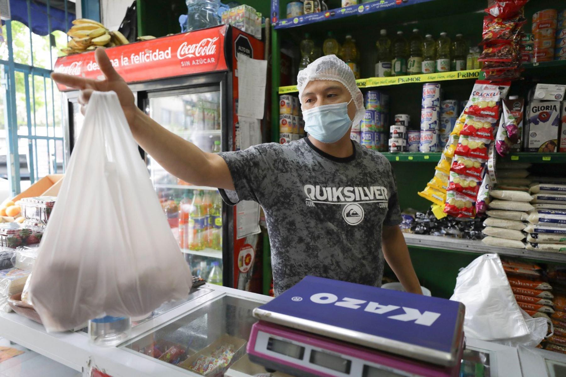 Bodega con protocolos sanitarios. Foto: cortesía.