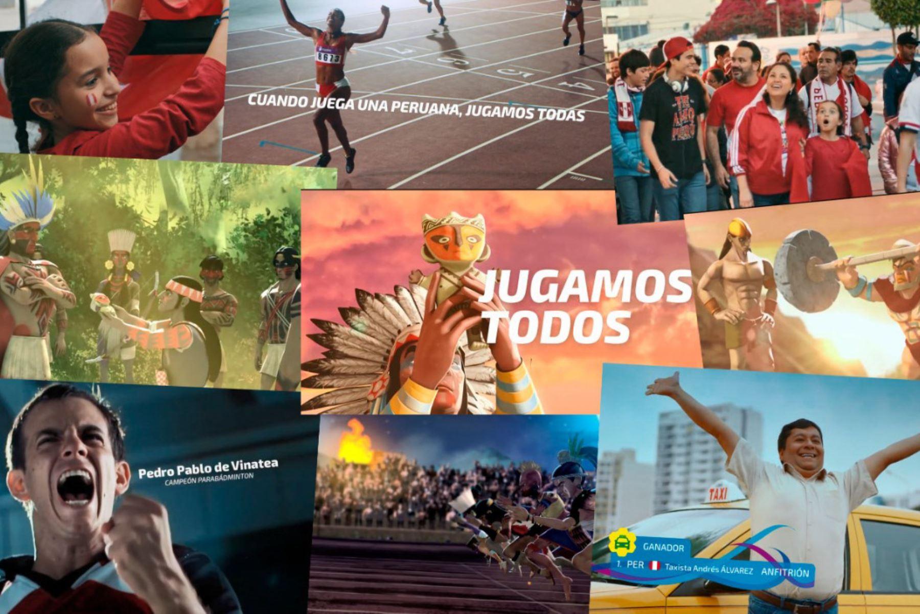 Los Juegos Lima 2019 ganan los premios Gran Effie y Effie Oro 2020 en la categoría Grandes Eventos. Foto: ANDINA/Difusión