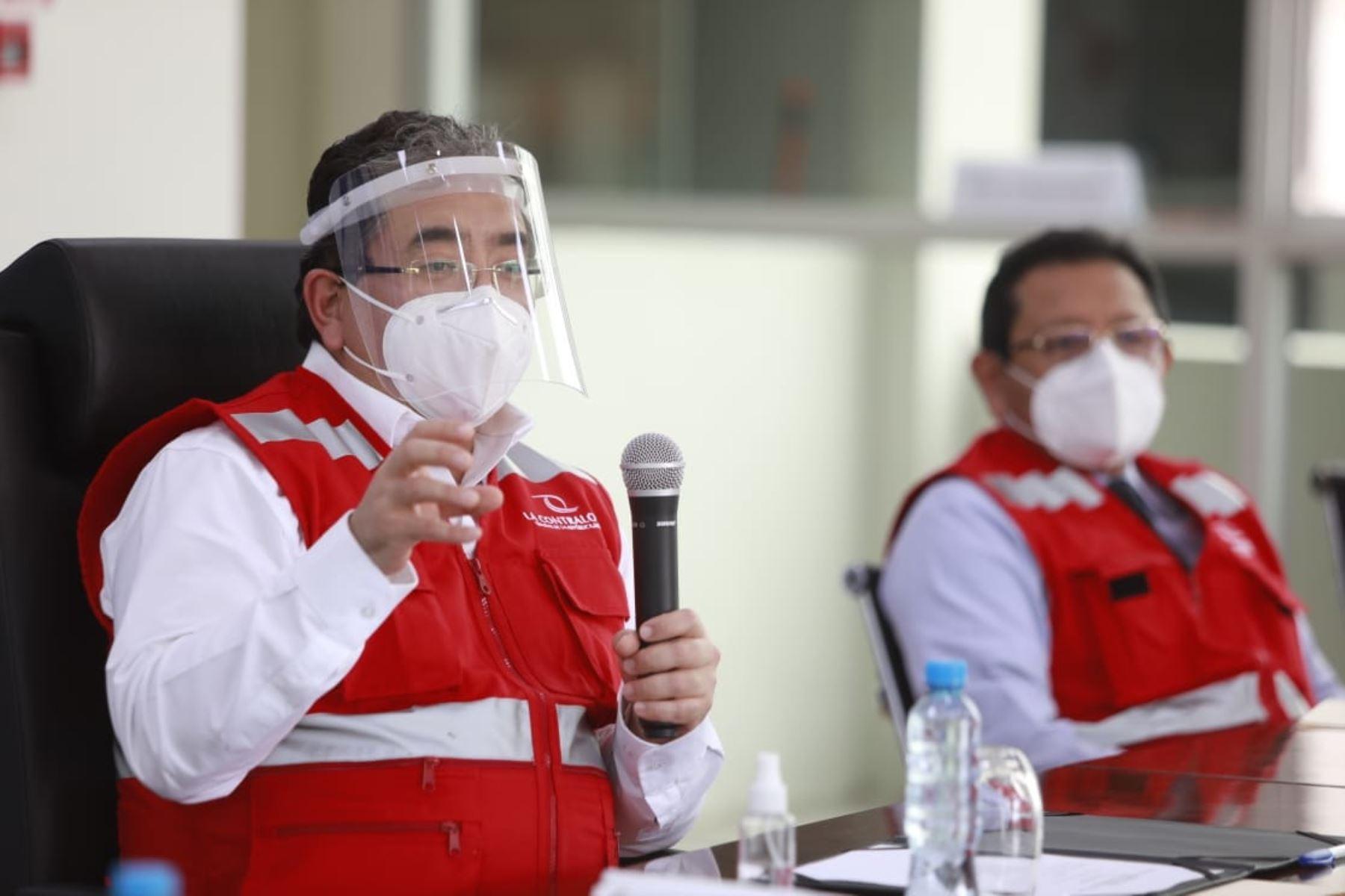 Nelson Shack confirmó la pérdida de cinco vacunas en Tacna