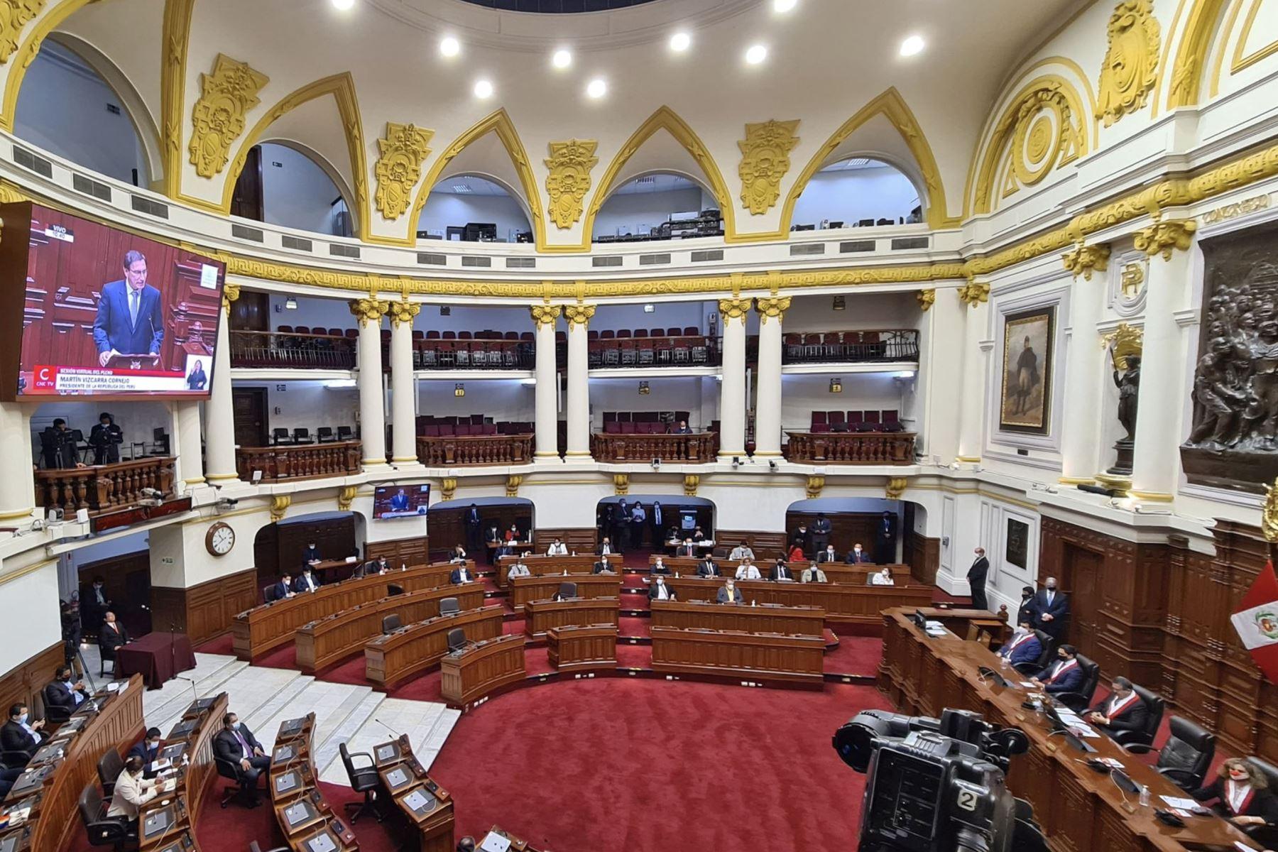 Photo: Congress of the Republic of Peru.