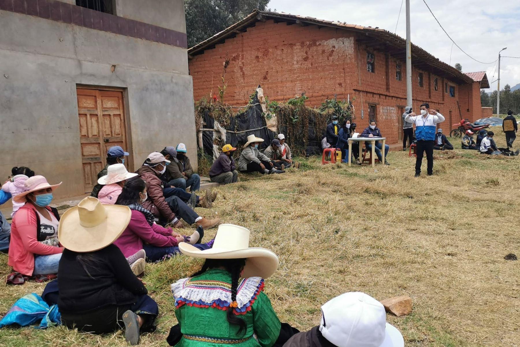 La planta de procesamiento de quinua y tarwi en Huamachuco (La Libertad) se ejecutará con una inversión de un millón 81,808.30 soles. Foto: ANDINA/Difusión