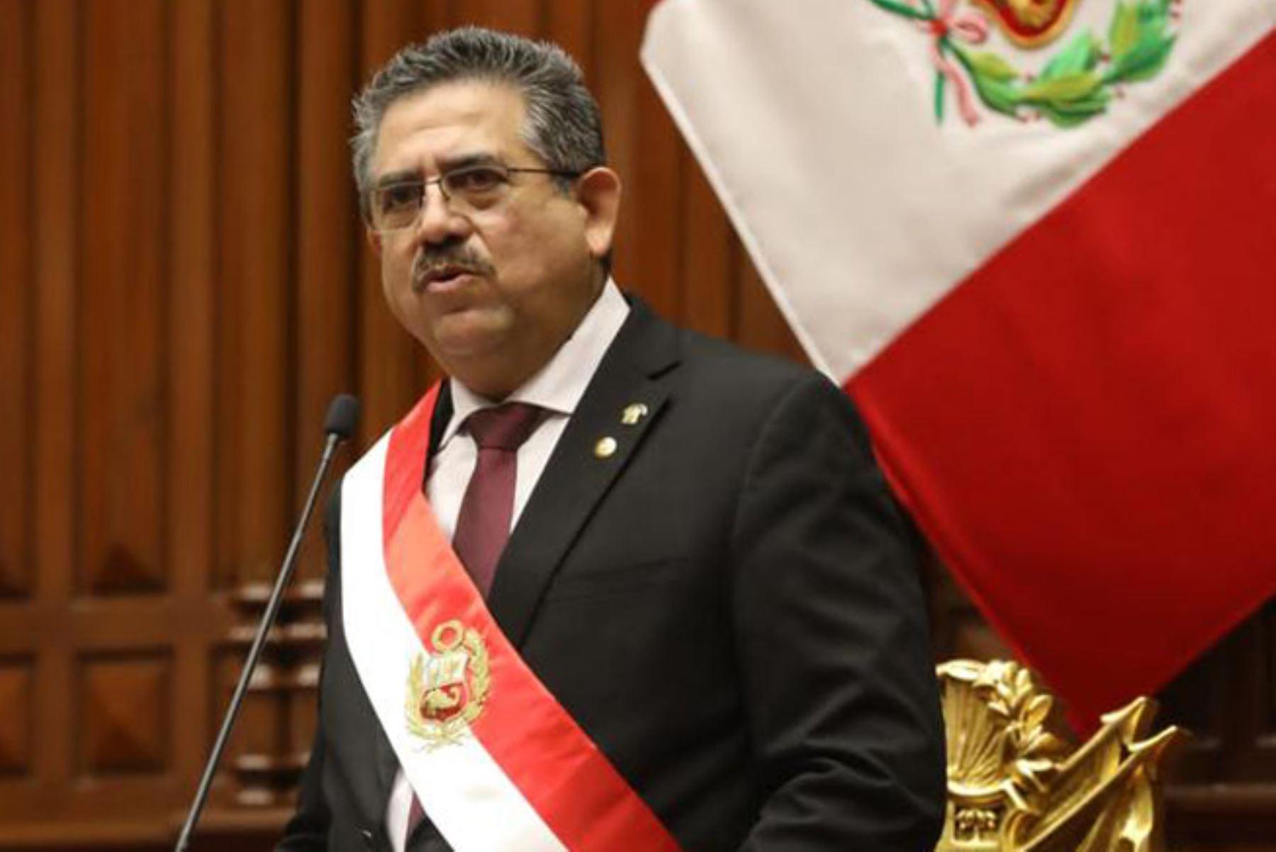 Manuel Merino de Lama: conoce el perfil del presidente de la República | Noticias | Agencia Peruana de Noticias Andina