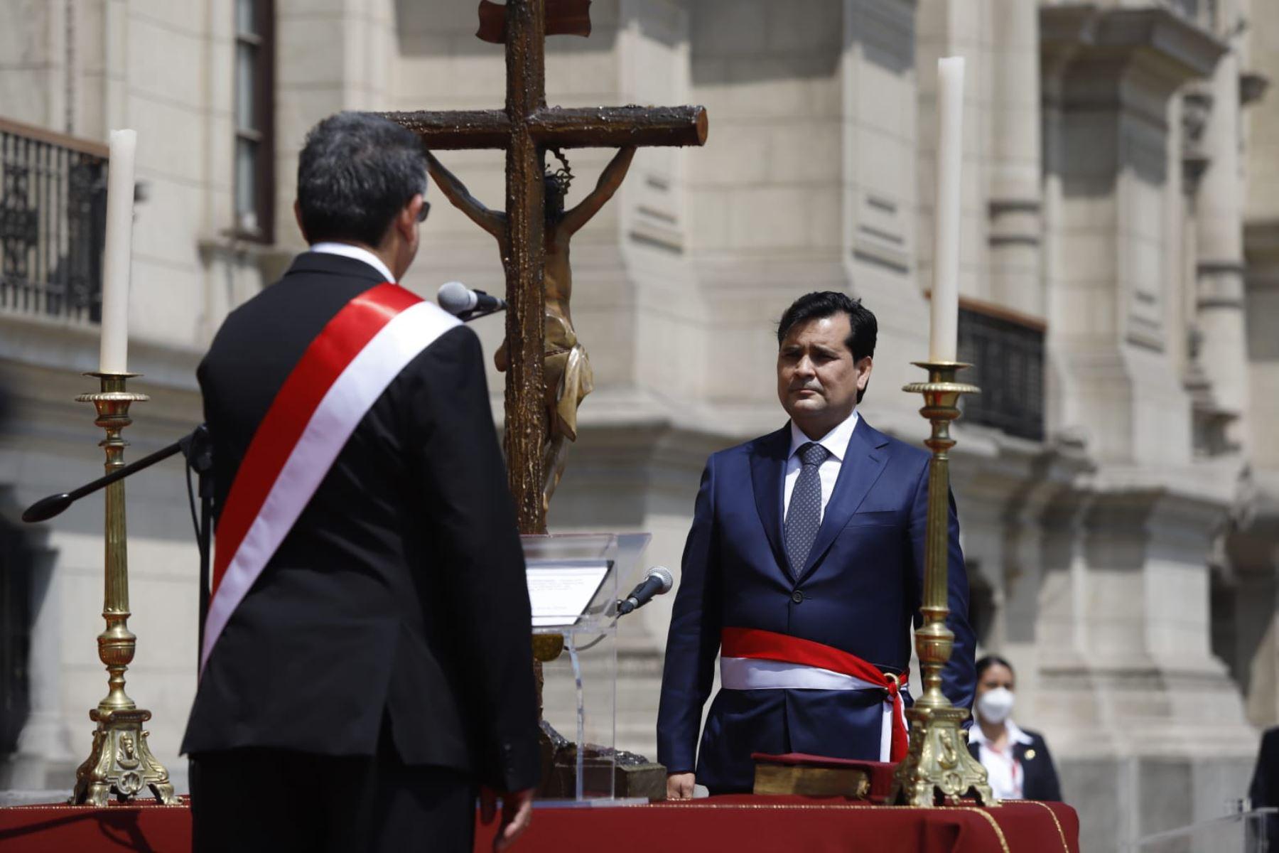 Federico Tong jura como ministro de Desarrollo e Inclusión Social |  Noticias | Agencia Peruana de Noticias Andina