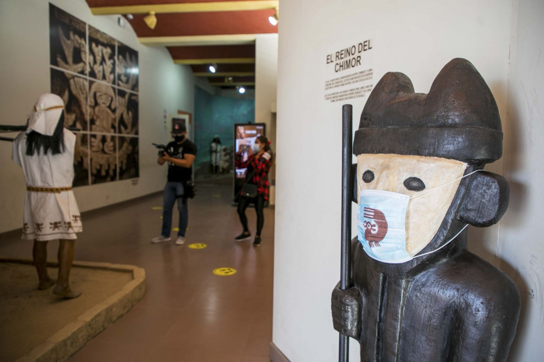 Se podrá visitar el Museo de Sitio Chan Chan (La Libertad) previa inscripción. Foto: ANDINA/Difusión
