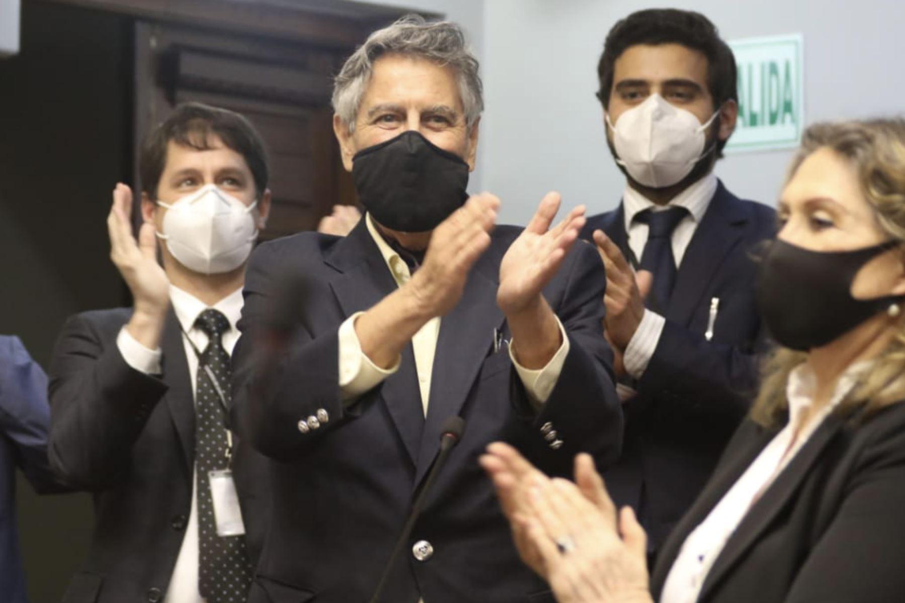 Francisco Sagasti es nuevo titular del Congreso y asumirá Presidencia. Foto: Congreso