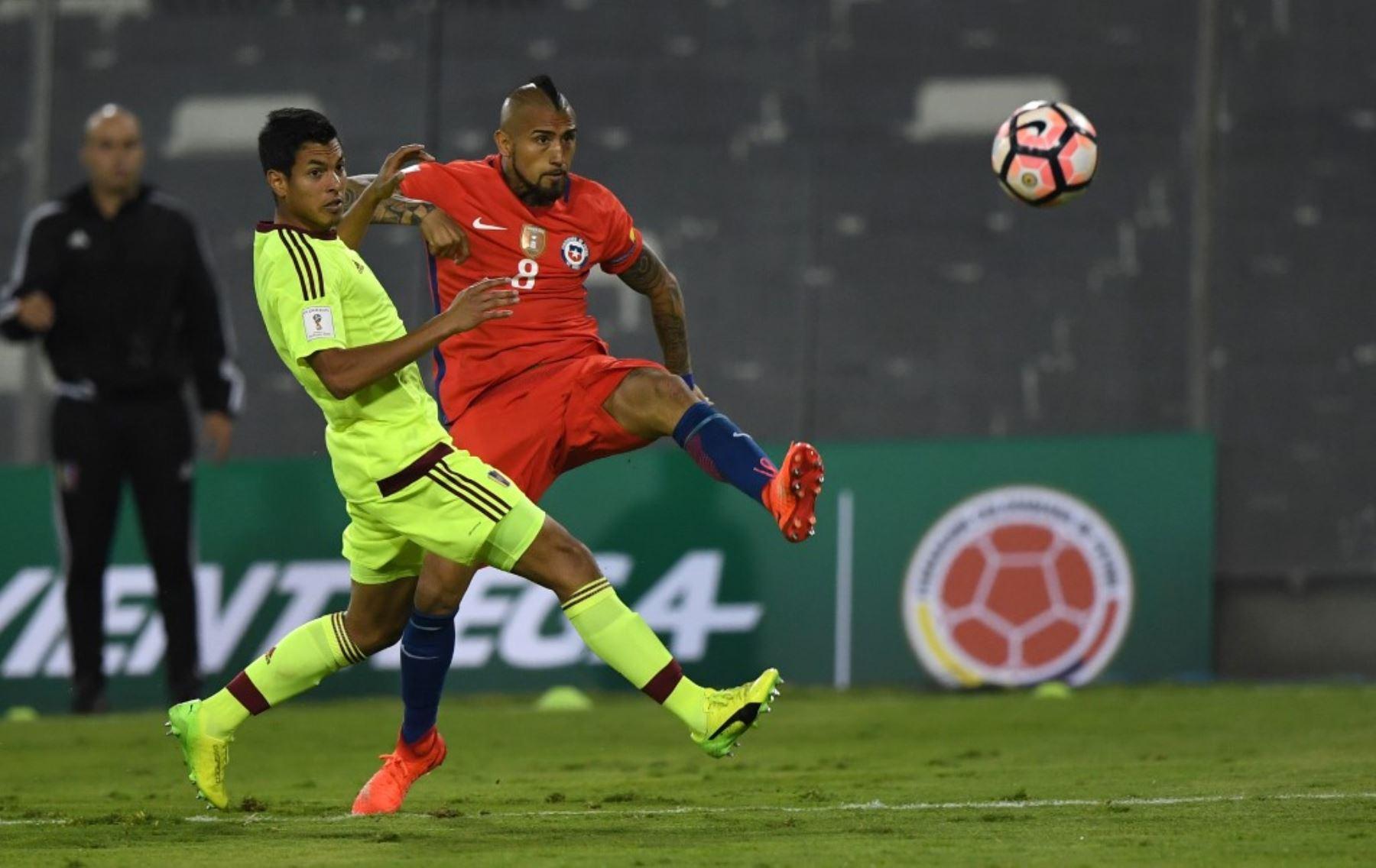 Chile y Venezuela se enfrentan por la cuarta jornada de Eliminatorias al Mundial Catar 2022