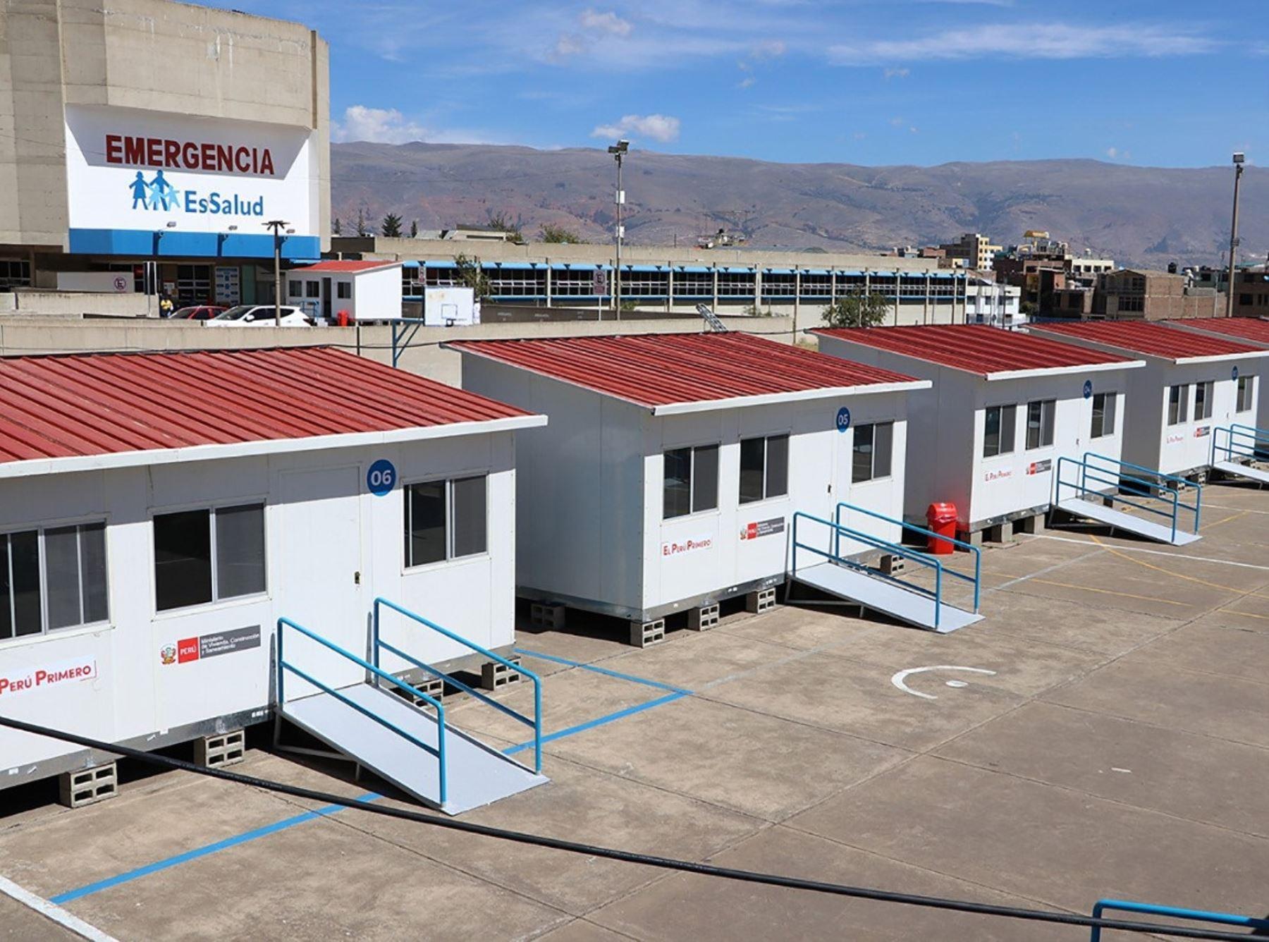 ministerio-de-vivienda-instalo-434-modulos-en-hospitales-para-enfrentar-al-coronavirus