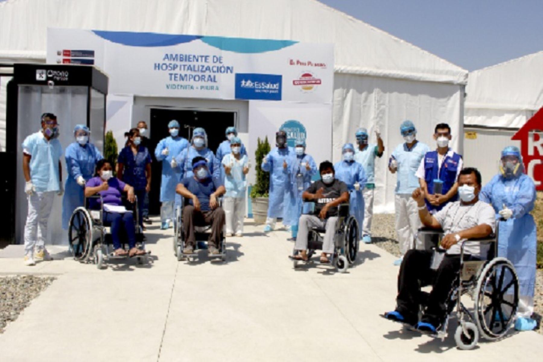 El Ministerio de Salud reportó más de 6,000 personas de alta tras vencer la covid-19 en las últimas 24 horas. ANDINA/Difusión