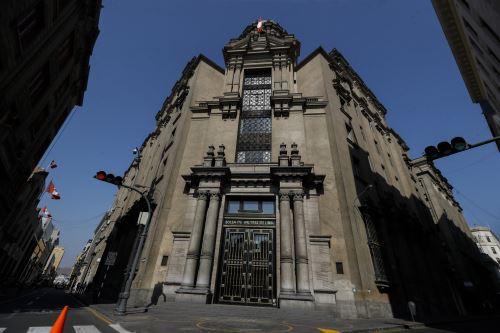 Sede de la Bolsa de Valores de Lima. ANDINA/Renato Pajuelo