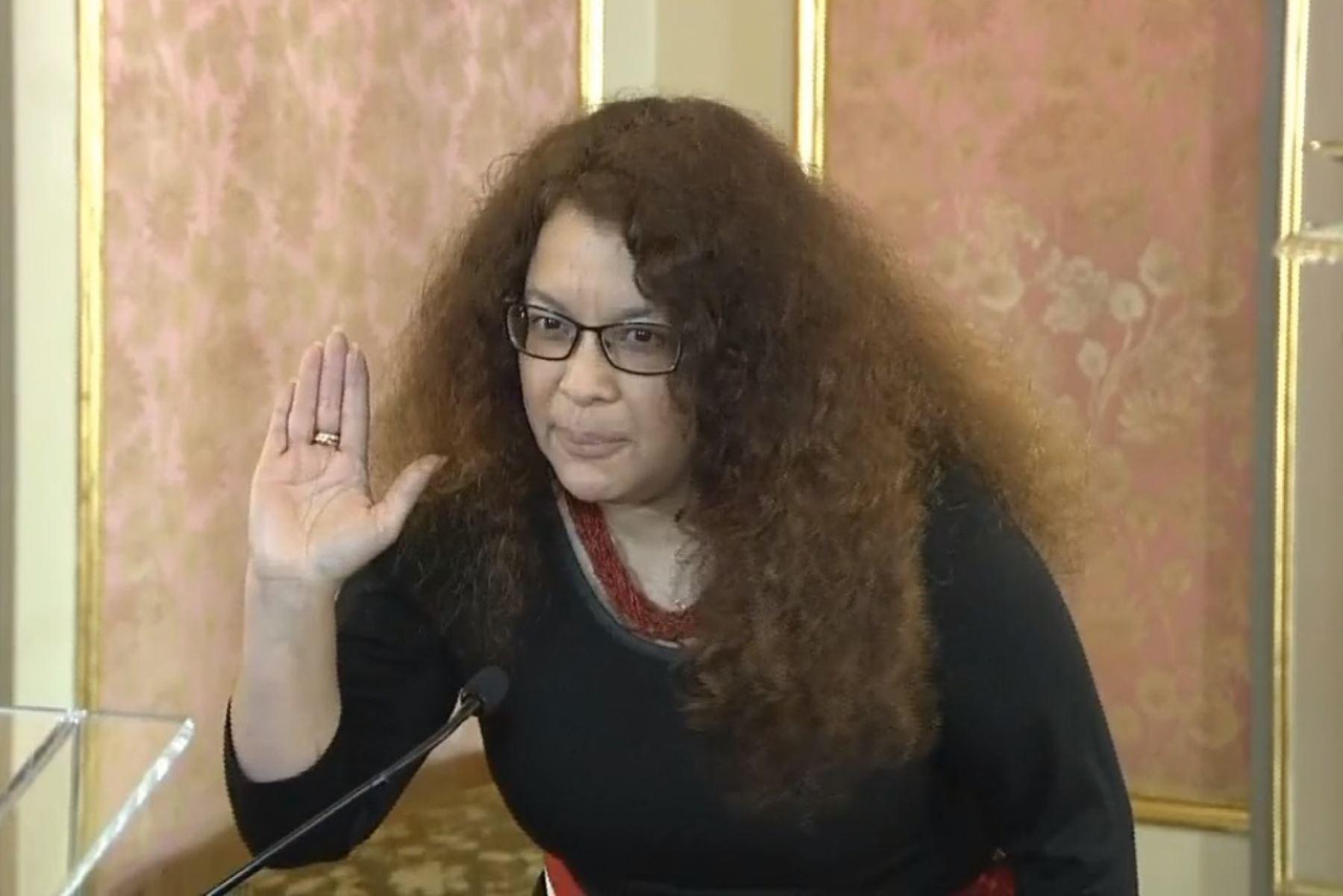 silvana-vargas-juro-como-ministra-de-desarrollo-e-inclusion-social