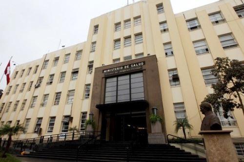 Sede central del Ministerio de Salud. ANDINA/Difusión