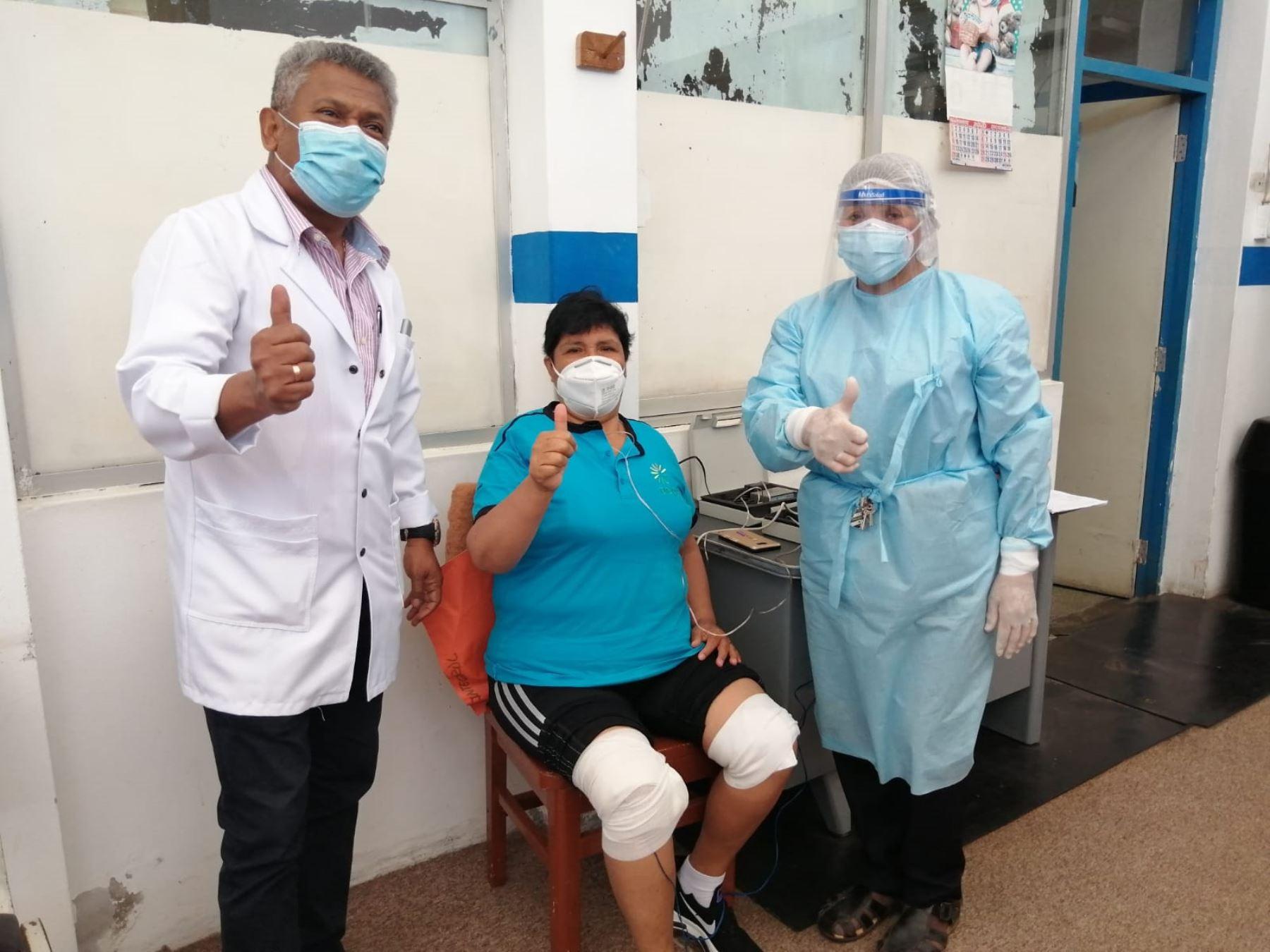 Un total de 110 pacientes poscovid de Áncash superan secuelas de enfermedad gracias a terapias de rehabilitación que brinda EsSalud.