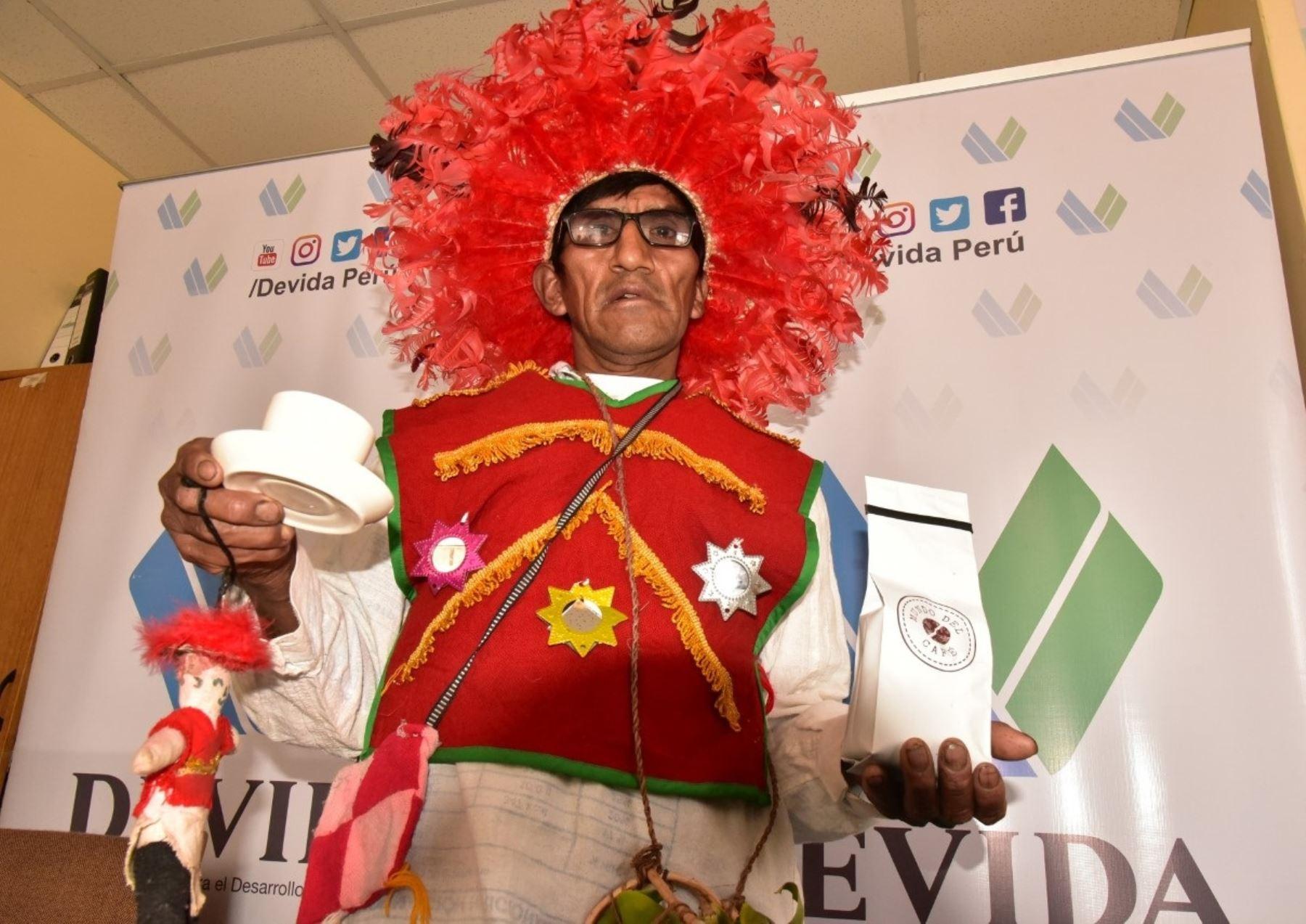 Conoce a Adán Rodrigo, el productor de café orgánico del valle de Esquilaya, en Puno, galardonado en Francia. ANDINA/Difusión