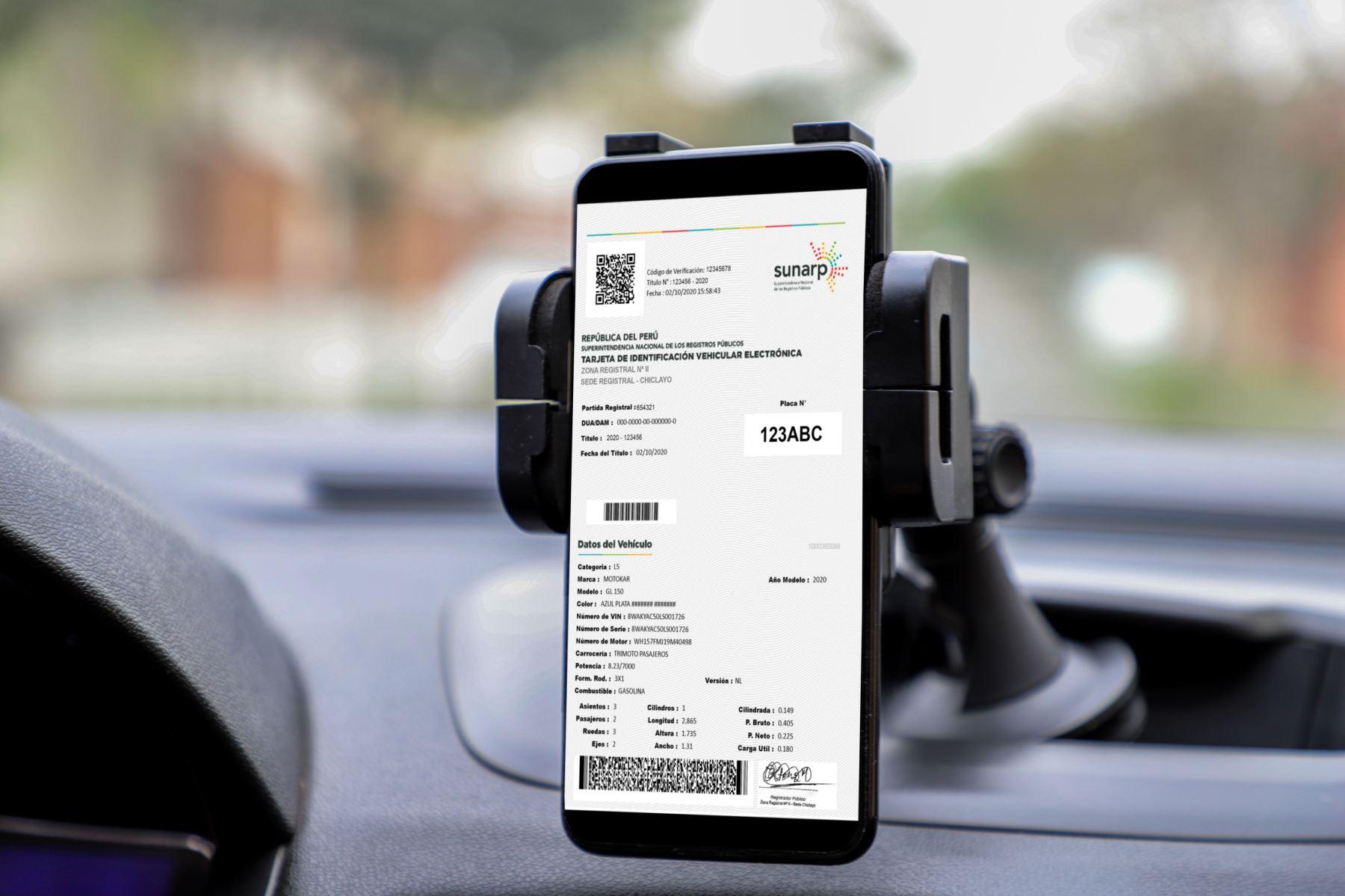 sunarp-ya-pueden-llevar-la-tarjeta-de-identificacion-vehicular-electronica-en-tu-celular