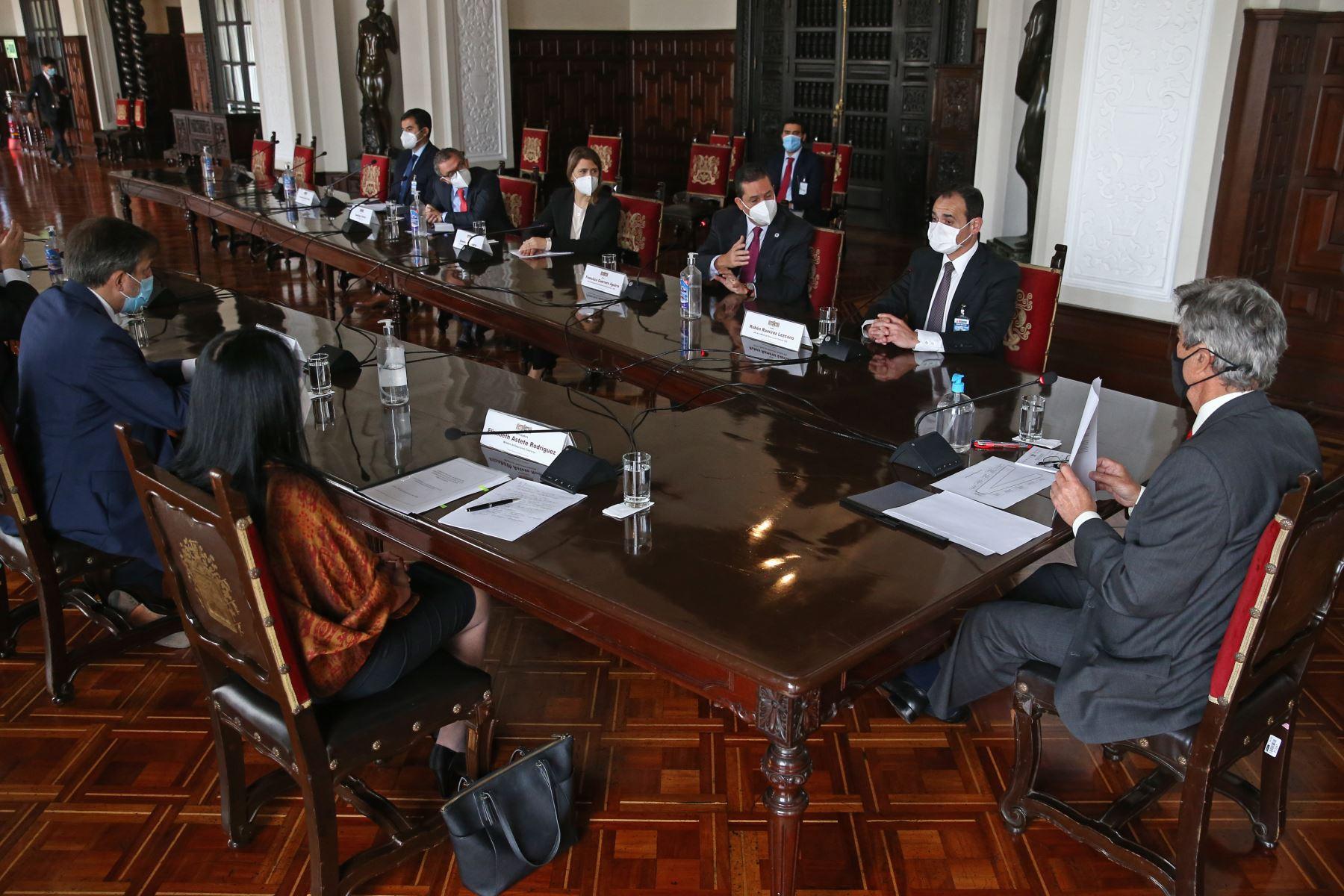 presidente-sagasti-se-reunio-con-mision-de-observadores-de-la-oea