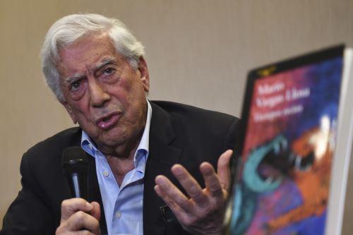 Mario Vargas Llosa (imagen de archivo). Foto: AFP