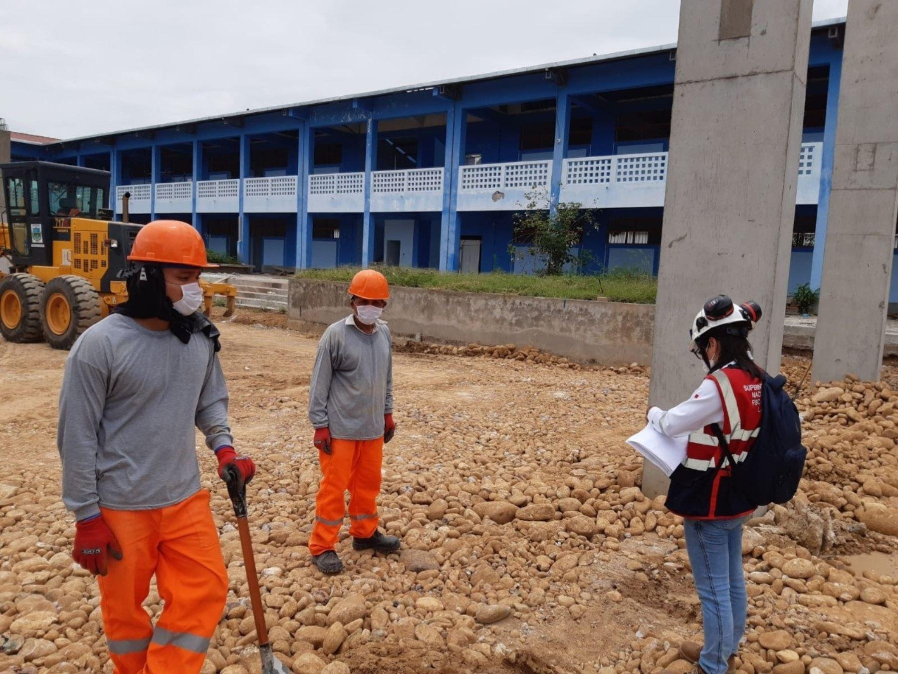 Sunafil instala mesa de trabajo en la región San Martín para mejorar las condiciones de seguridad laboral de los trabajadores. ANDINA/Difusión