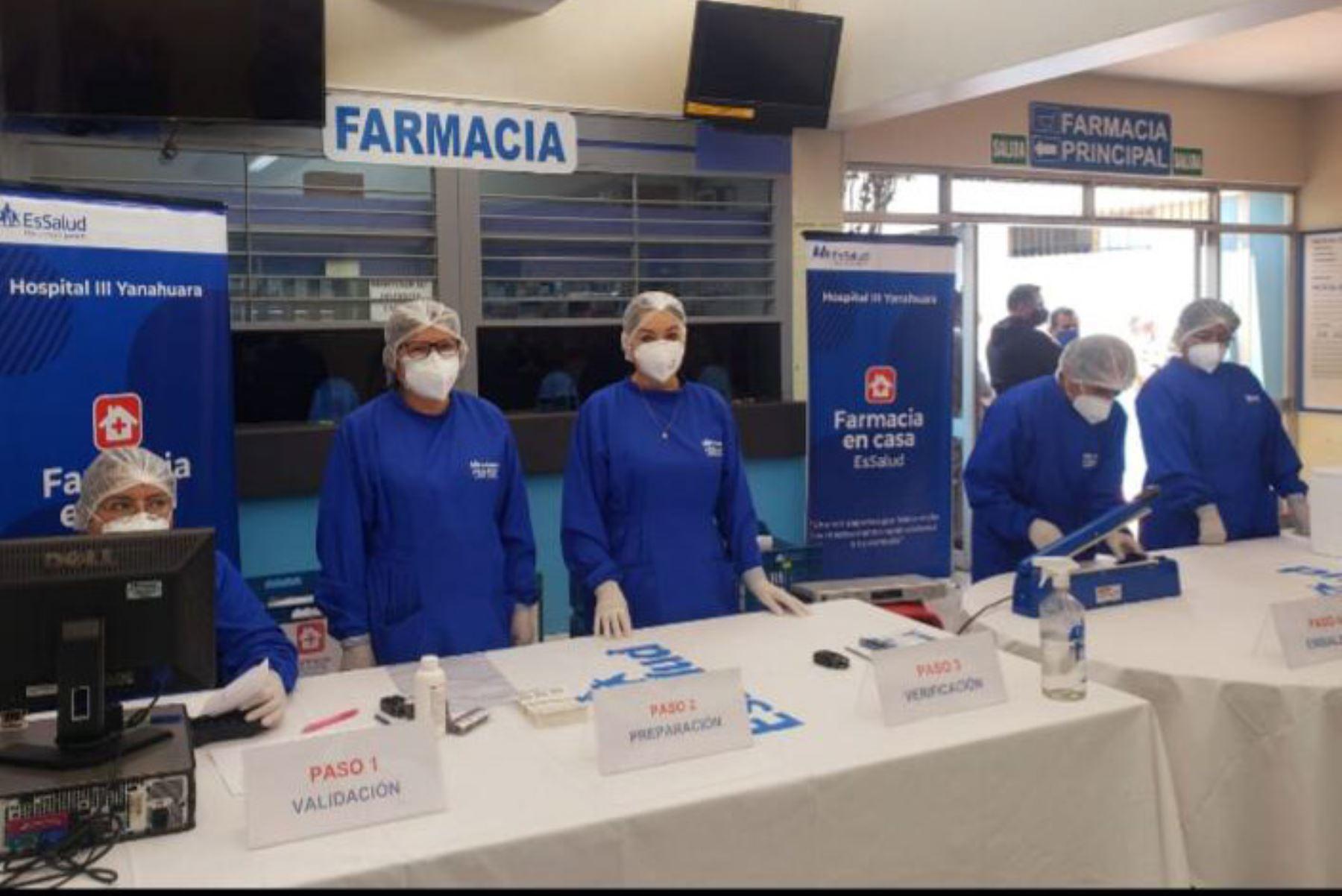 Personal de EsSalud Arequipa tendrá a su cargo la entrega de medicamentos a domicilio a pacientes con enfermedades crónicas.
