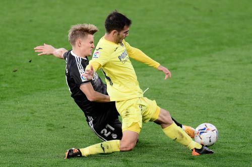 Real Madrid y Villarreal empatan 1-1 por la Liga española