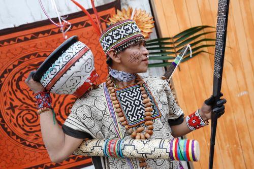 Ministro de Cultura participó en el aniversario de la Asociación Comunidad Urbano Shipibo-Konibo de Lima Metropolitana en Cantagallo