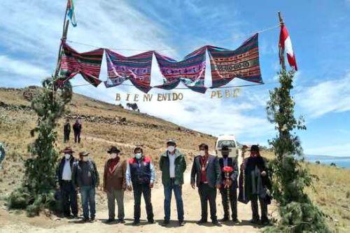 Minagri entrega más 60 mil plantones de pinos radita en 50 hectáreas de bosque en Puno