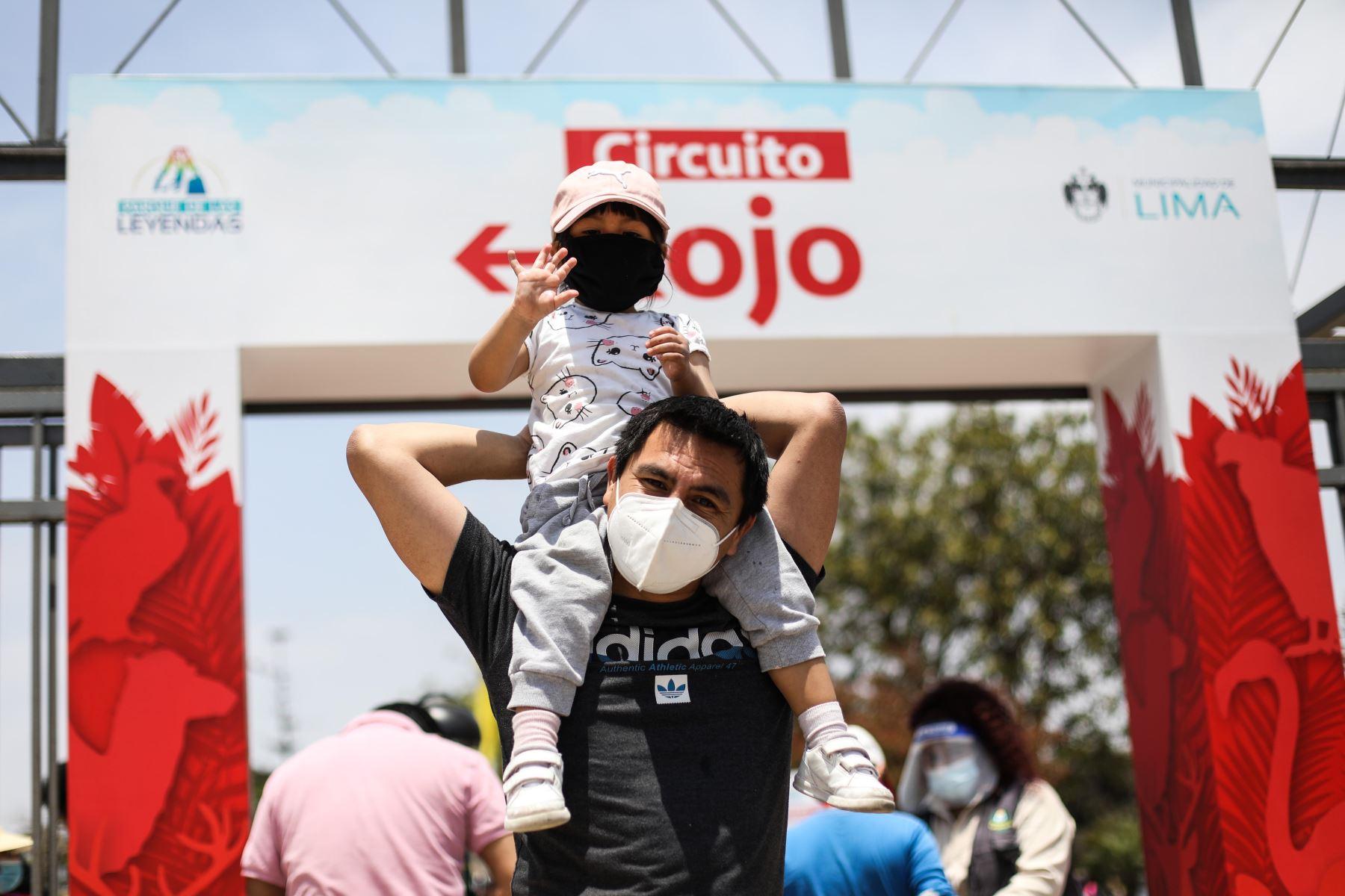 Tras varios meses de restricciones por la emergencia sanitaria decretada por el Gobierno Peruano, los niños menores de 12 años podrán disfrutar de diversos espacios públicos. Foto: Municipalidad de Lima