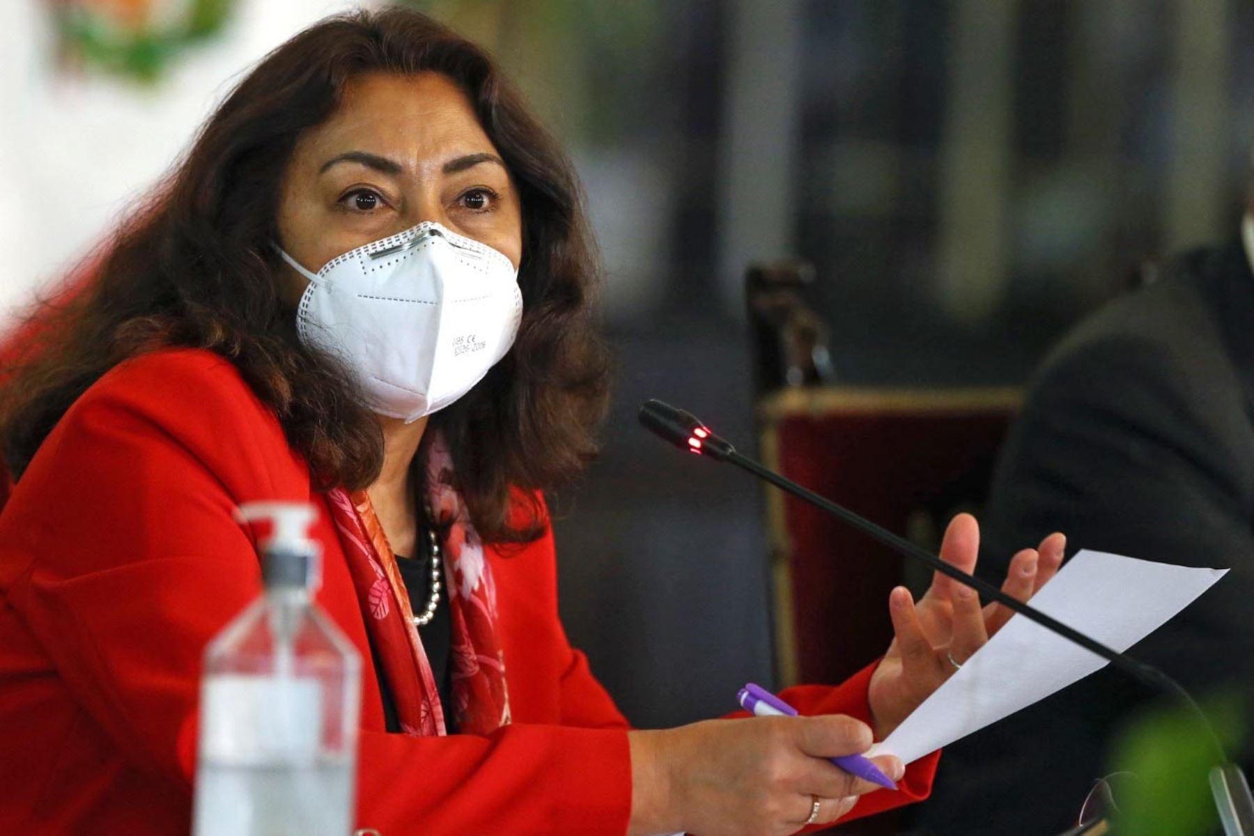Violeta Bermúdez: vacunas llegarán al Perú el primer semestre del 2021    Noticias   Agencia Peruana de Noticias Andina