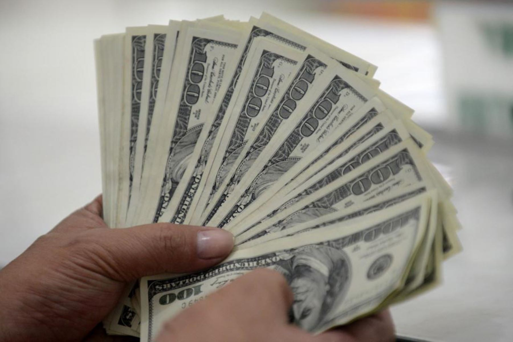 Dólares. Foto: ANDINA/difusión.