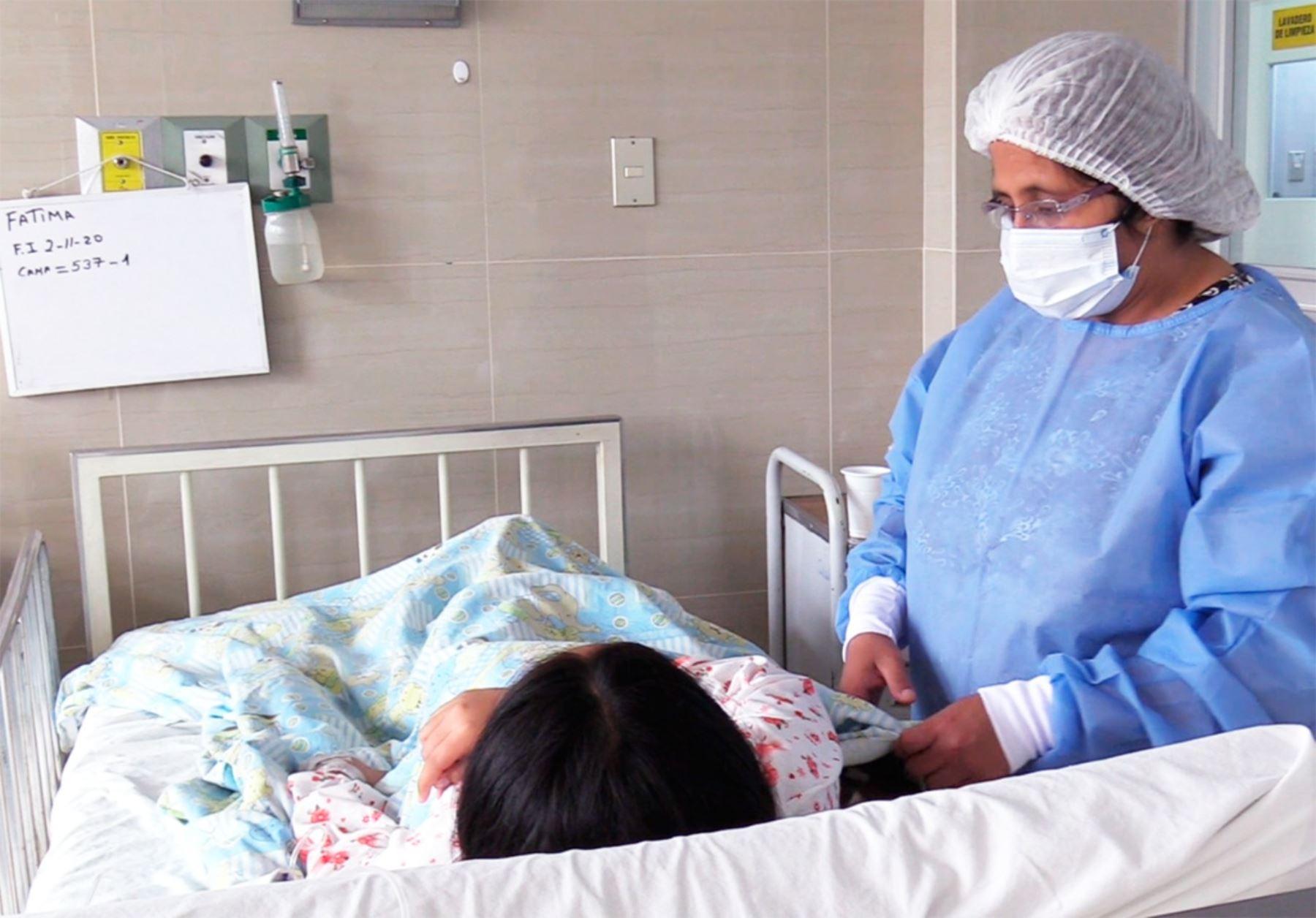 Realizan cirugías laparoscópicas en INSN. Foto: INSN.