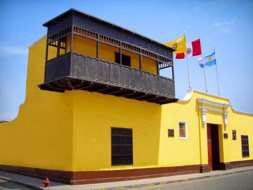 Este viernes 27 Huaura celebra los 200 años de la proclamación de la Independencia que realizó el libertador general José de San Martín. Foto: ANDINA/difusión.