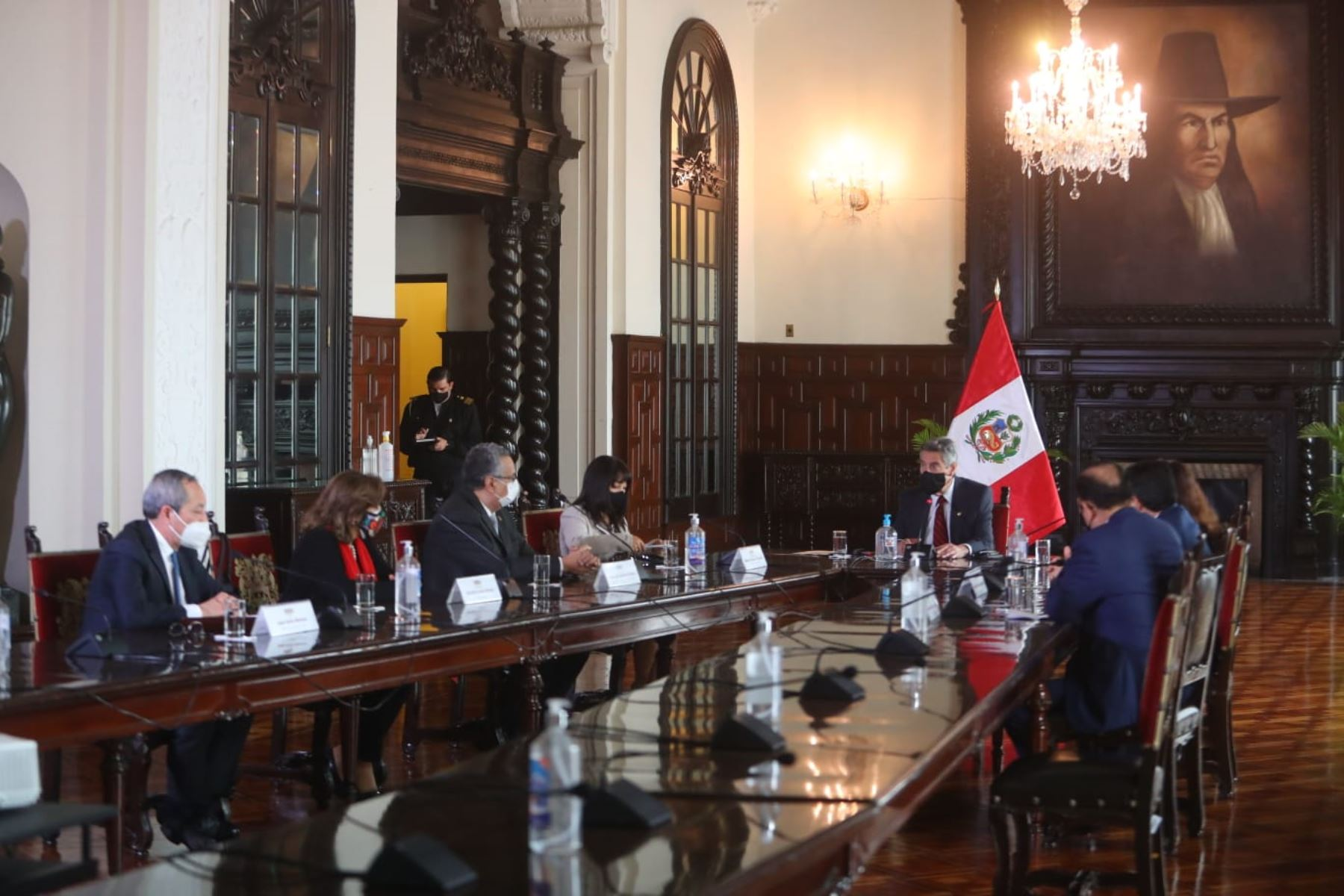 César Cervantes asume hoy funciones como comandante general de la Policía Nacional