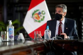 Peruvian President Francisco Sagasti. Photo: ANDINA/Presidency of the Republic.