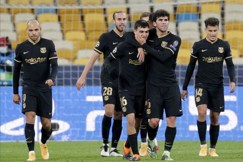 Barcelona derrota 4-0 a Dinamo Kiev por la Champions League