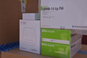 La región Áncash recibió el primer lote de pruebas de antígenos para detectar el covid-19.