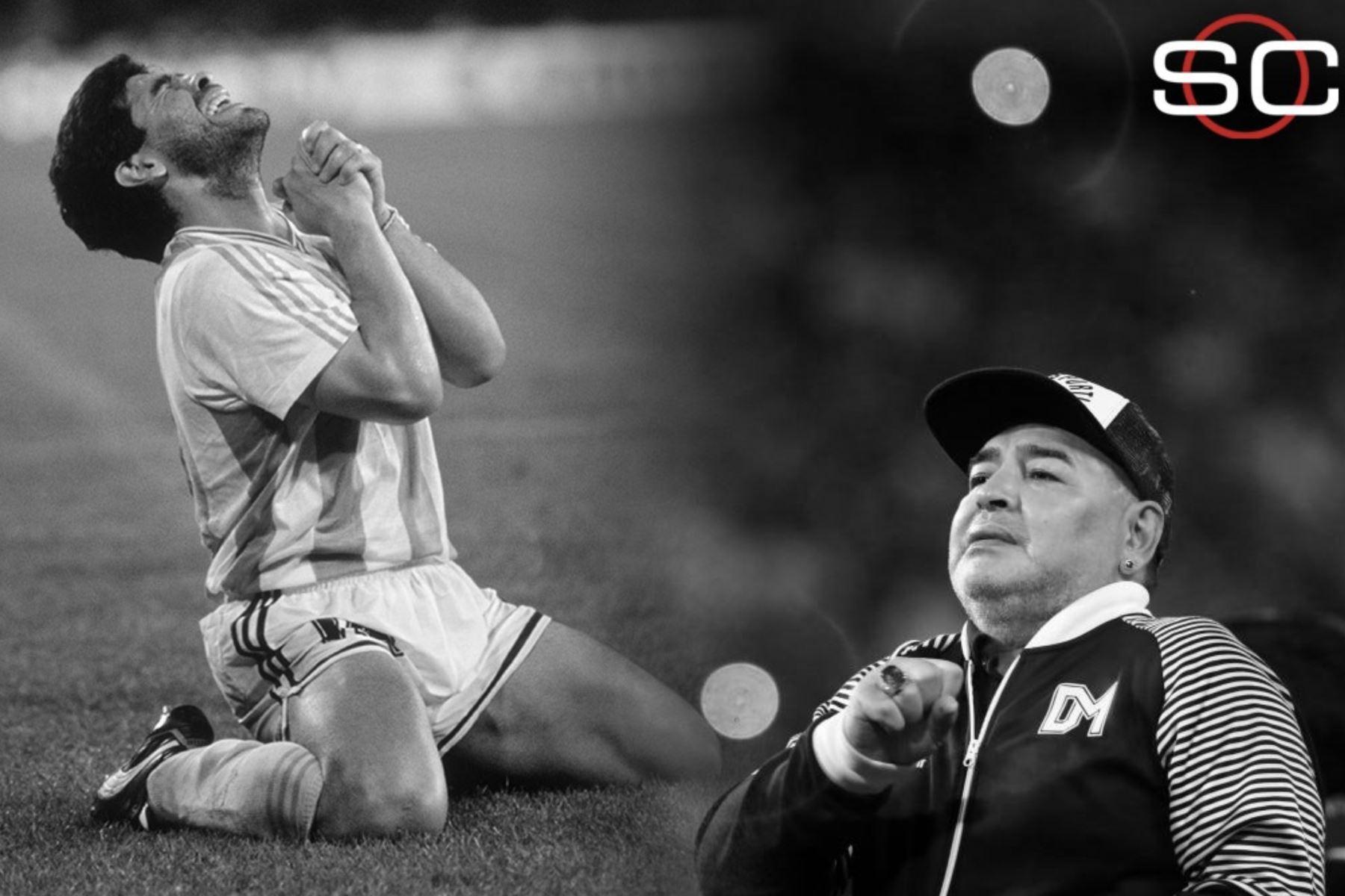 Así informa la prensa mundial la muerte de Diego Armando Maradona. Sport Center