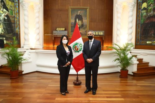 Presidente Francisco Sagasti se reúne con lideresa de Fuerza Popular