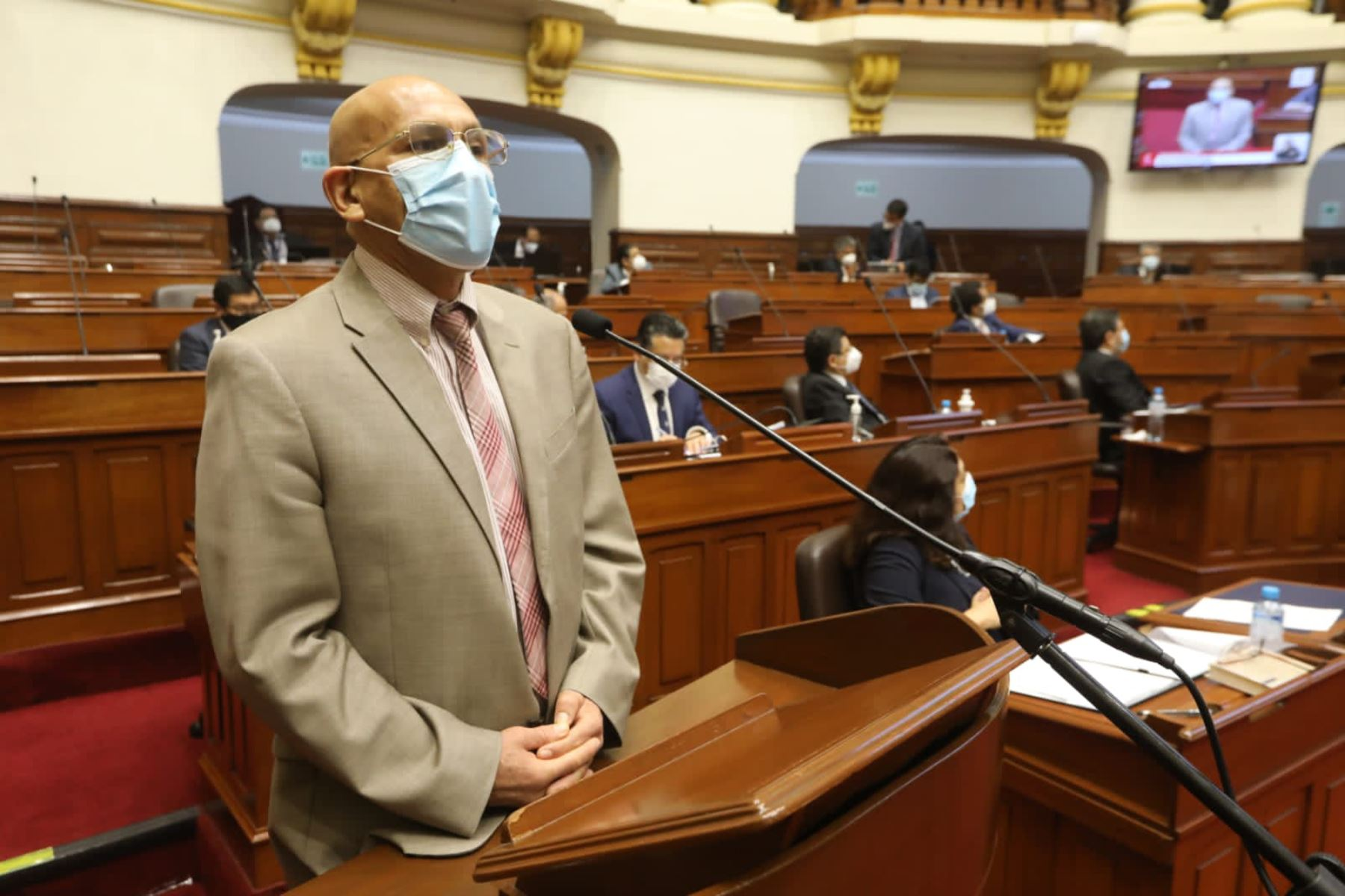 Photo: ANDINA/Congress of the Republic