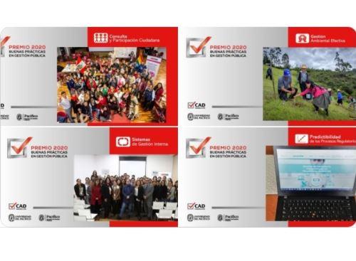 El Concurso Buenas Prácticas en Gestión Pública 2020 premió a cinco experiencias del Ministerio del Ambiente, destacó el Minam. ANDINA/Difusión
