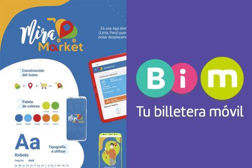 MiraMarket y Bim son dos innovadoras apps desarrolladas por alumnos y docentes del instituto peruano Toulouse Lautrec.