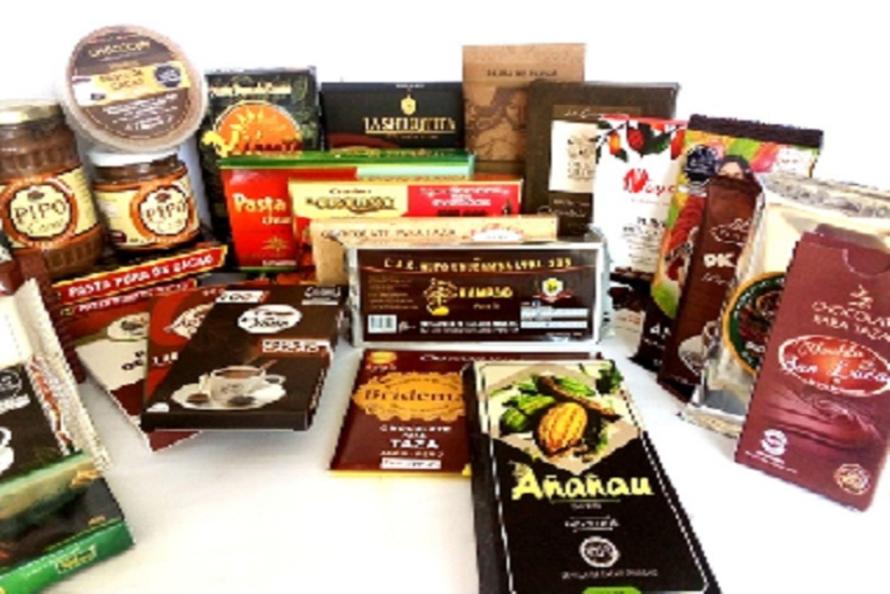 Los interesados pueden adquirir virtualmente estos productos mediante la plataforma del Salón del Cacao y Chocolate 2020.