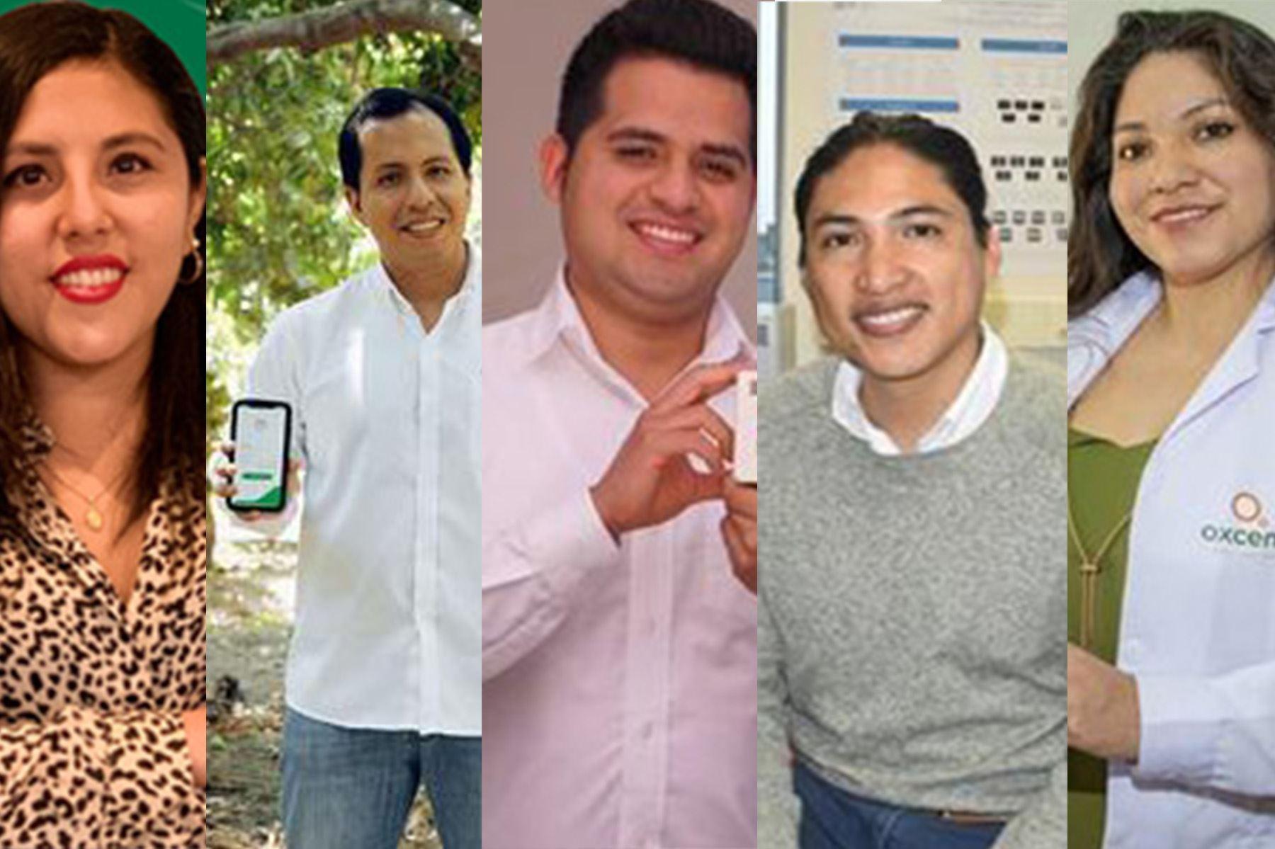 Cinco peruanos se ubican entre los 35 mejores innovadores de Latinoamérica