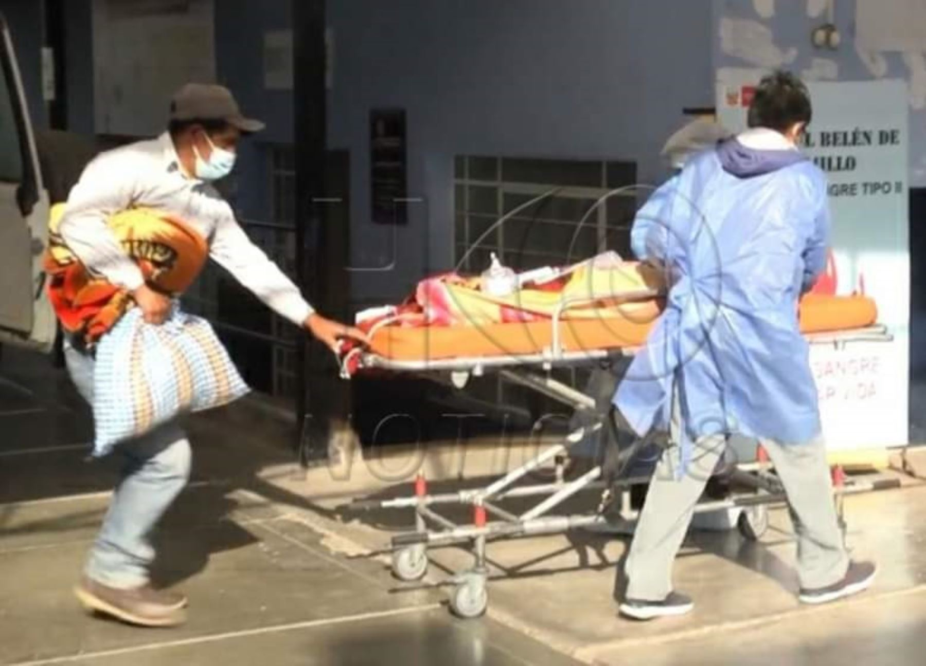 Uno de los niños afectados por la explosión en Huamachuco murió cuando era atendido en el Hospital Belén de Trujillo. Foto: ANDINA/Archivo