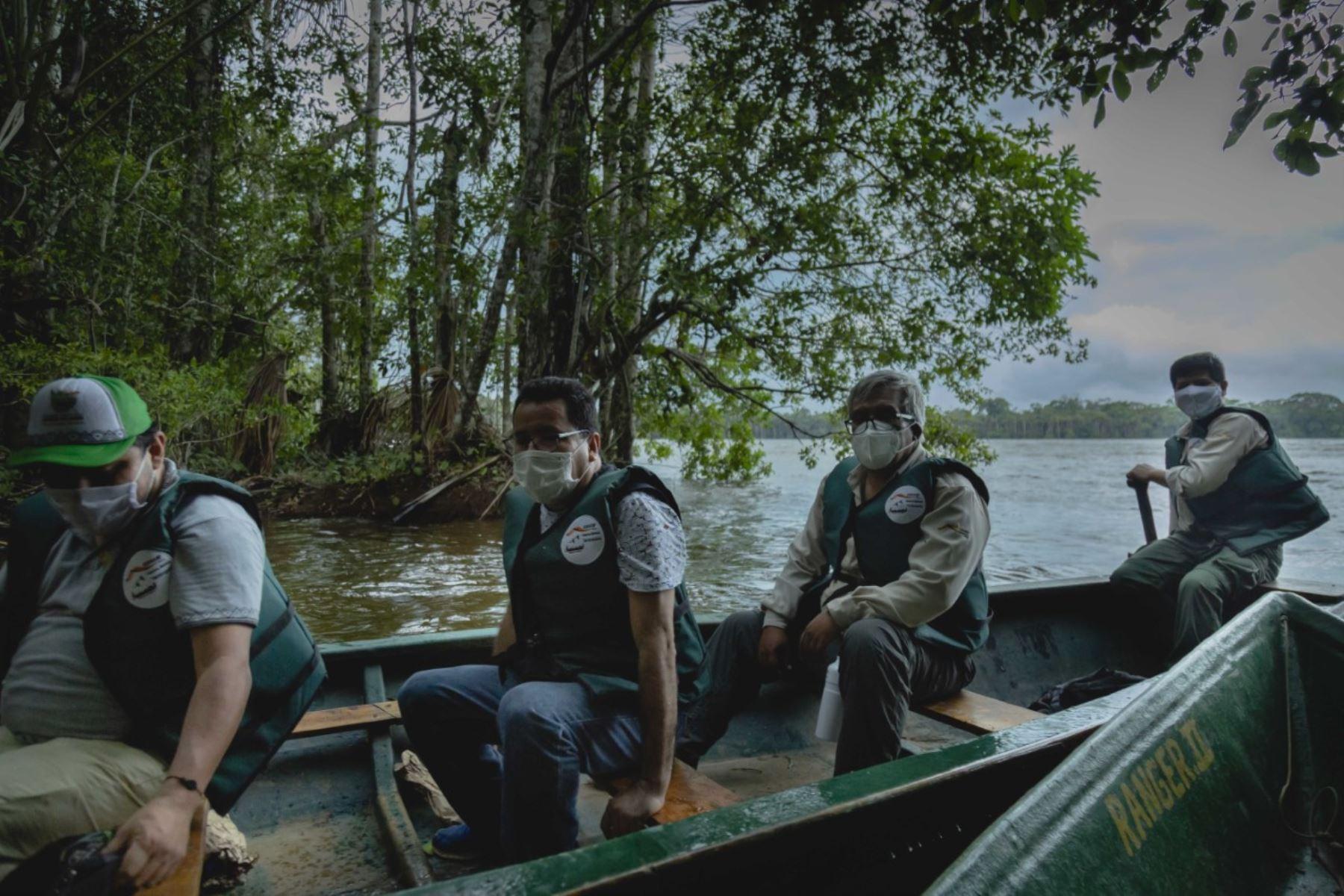 Desde hoy se reinician de manera progresiva las actividades y visitas al principal atractivo turístico de naturaleza de la región Madre de Dios como es la Reserva Nacional Tambopata. Foto: SERNANP